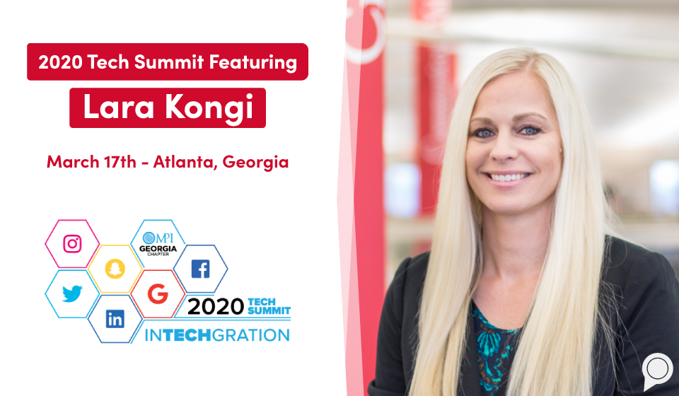 2020 Tech Summit featuring Lara Kongi - March 17, Atlanta, Georgia