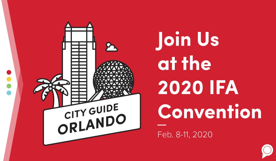 Join us at the 2020 IFA Convention - February 8 through 11, 2020