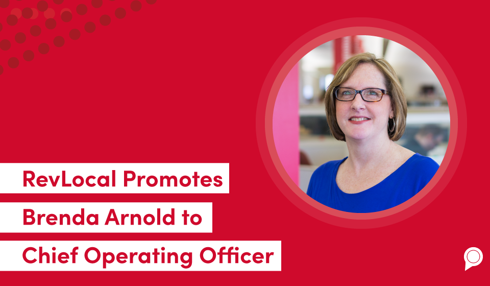 RevLocal Promotes Brenda Arnold to Chief Operating Officer