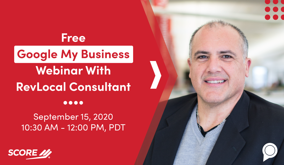 Free Google My Business Webinar With RevLocal Consultant