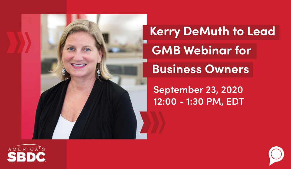 Kerry DeMuth to Lead GMB Webinar for Business Owners
