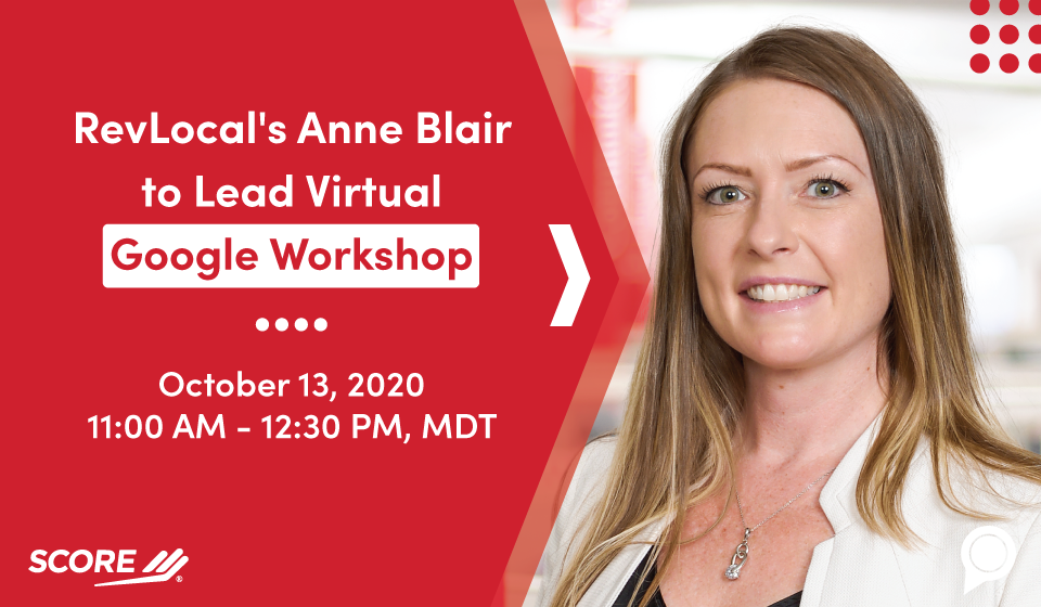 RevLocal's Anne Blair to Lead Virtual Google Workshop