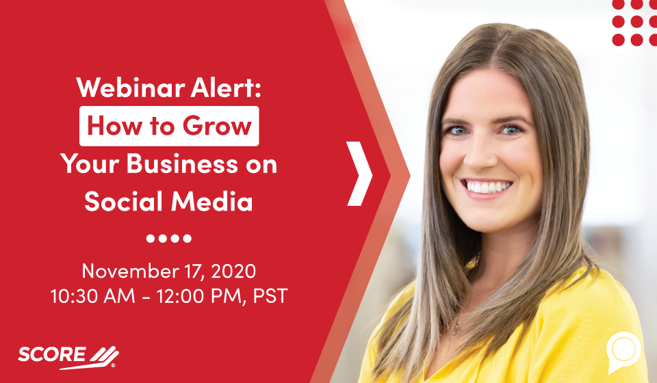 Webinar Alert: How to Grow Your Business on Social Media