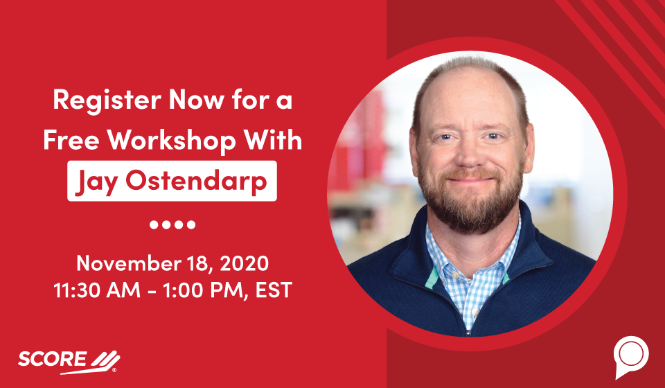 Register Now for a Free Workshop With Jay Ostendarp