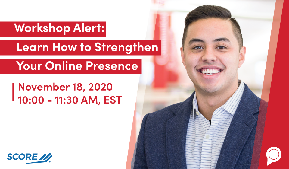 Workshop Alert: Learn How to Strengthen Your Online Presence