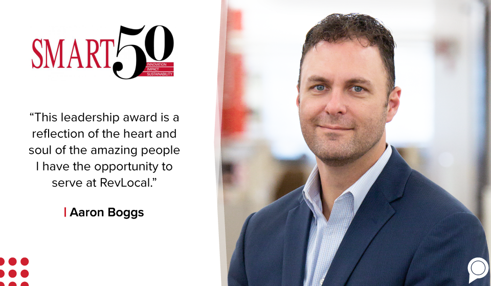 RevLocal President Receives Columbus Smart 50 Award in 2020